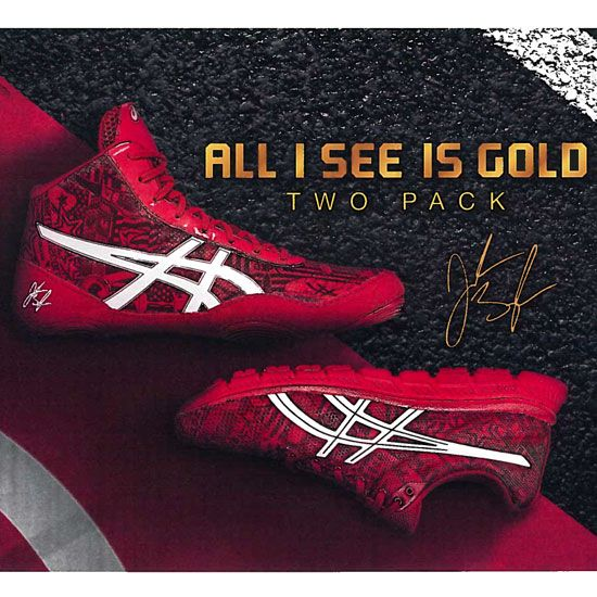 ASICS Jordan Burroughs All I See Is Gold Two Pack