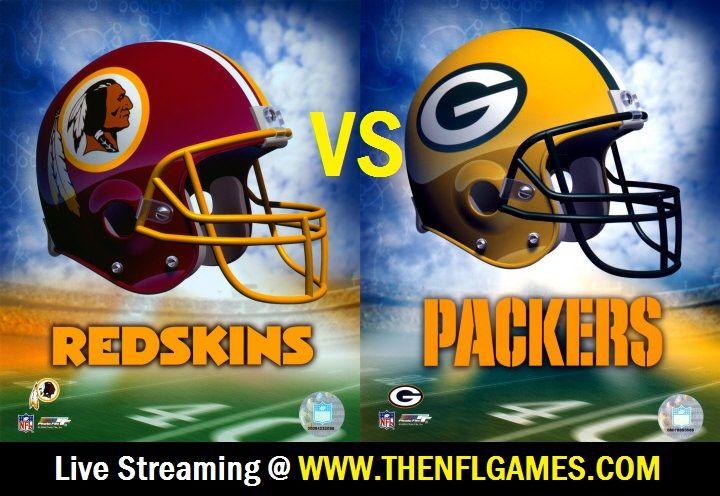 Washington Redskins vs Green Bay Packers Live Streaming