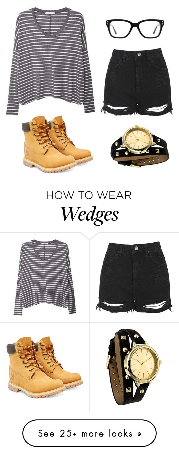 """""""American Gothic"""" by kittykitkat132 on Polyvore featuring MANGO, Topshop, Converse and Timberland"""