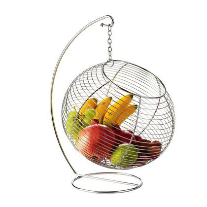 Porte fruits boule en métal suspendue Kitchen Artist