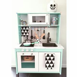 ber ideen zu ikea kinderk che auf pinterest duktig ikea duktig k che und r ckwand. Black Bedroom Furniture Sets. Home Design Ideas