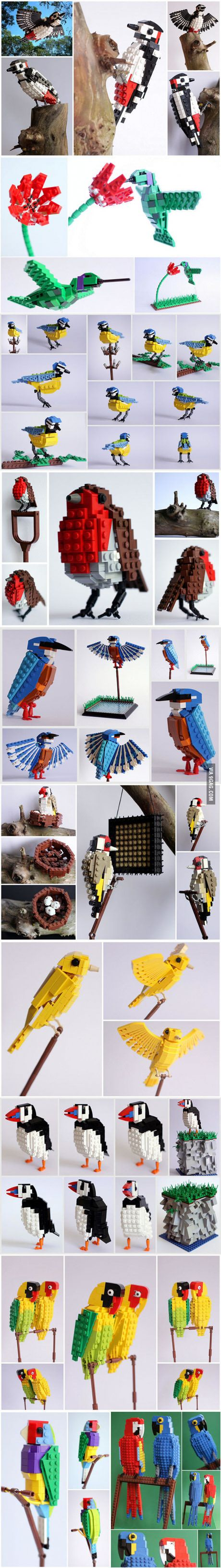 Awesome LEGO Birds