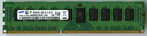 Buy Samsung M393b5273ch0-ch9 Pc3-10600r Ddr3 1333 4gb Ecc Reg 2rx8 REFURBISHED for 14 USD | Reusell