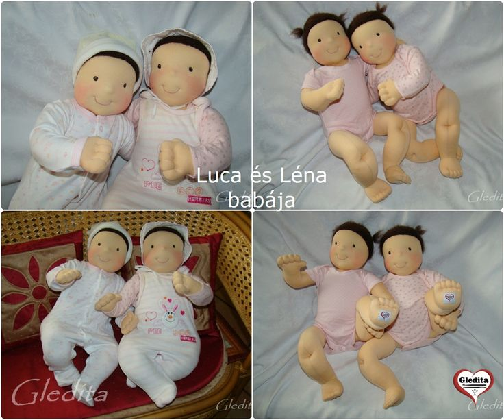 Baby dolls for playing - for Luca & Lena #gleditababydoll