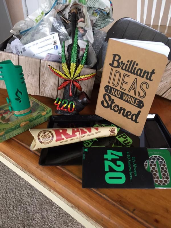 Quot Christmas Came Early Thank You Cannabox For The Gifts
