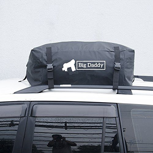 Car Rooftop Cargo Bag Version 2 By BigDaddy – 14 Cubic Feet (400 Litres)- Super Strong and Extra Waterproof Tarpaulin Material –Ideal For Road Trips – With FREE ROOF MAT, Straps and Handy Storage Bag #Rooftop #Cargo #Version #BigDaddy #Cubic #Feet #Litres) #Super #Strong #Extra #Waterproof #Tarpaulin #Material #–Ideal #Road #Trips #With #FREE #ROOF #MAT, #Straps #Handy #Storage