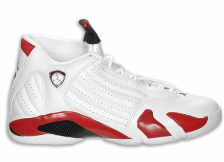Air Jordan Retro 14 (XIV) White Red Restock Available Now on http://www.kixandthecity.com/air-jordan-retro-14-xiv-white-red-restock-available-now/