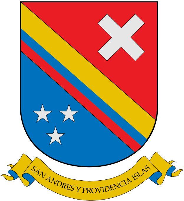 Coat of arms of Archipelago of San Andrés,Providencia and Santa Catalina