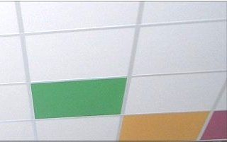 can i paint acoustic ceiling tiles   Acoutec-N Acoustic Ceiling Tiles for Suspended T Grid Ceilings