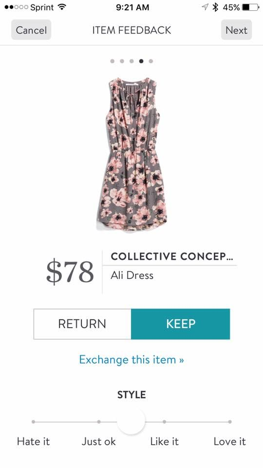 Collective Concepts Ali Dress. I love Stitch Fix! A personalized styling service and it's amazing!! Simply fill out a style profile with sizing and preferences. Then your very own stylist selects 5 pieces to send to you to try out at home. Keep what you love and return what you don't. Only a $20 fee which is also applied to anything you keep. Plus, if you keep all 5 pieces you get 25% off! Free shipping both ways. Schedule your first fix using the link below! #stitchfix @stitchfix…