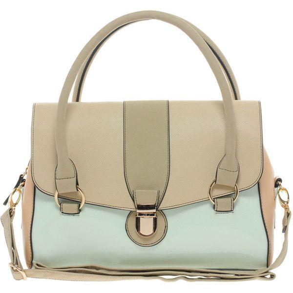 Oasis Clean Barrel Bag In Colourblock ($50) ❤ liked on Polyvore featuring bags, handbags, shoulder bags, multi, purses, brown shoulder bag, zipper purse, handbags & purses, color block handbag et oasis handbags