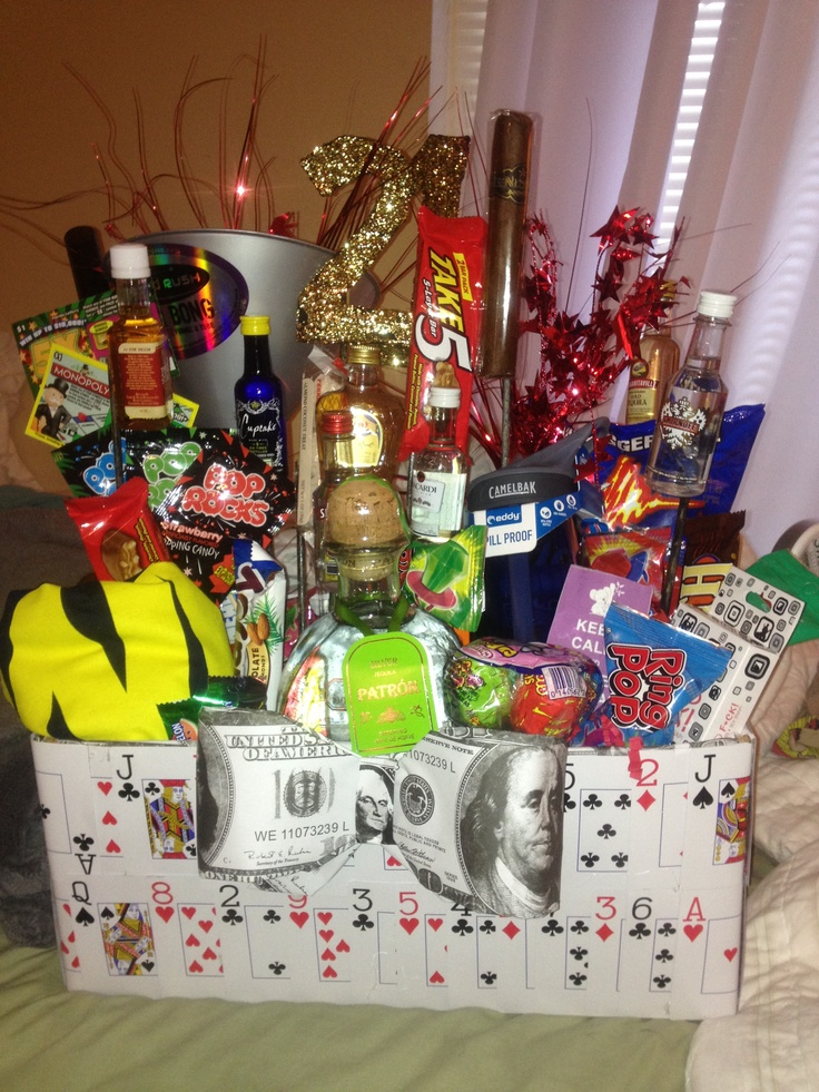21st Birthday Gift Basket Ideas : Best images about boyfriend gifts on beer