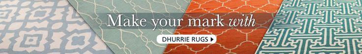 Ironwork Trellis Dhurrie Rug - Shades of Light