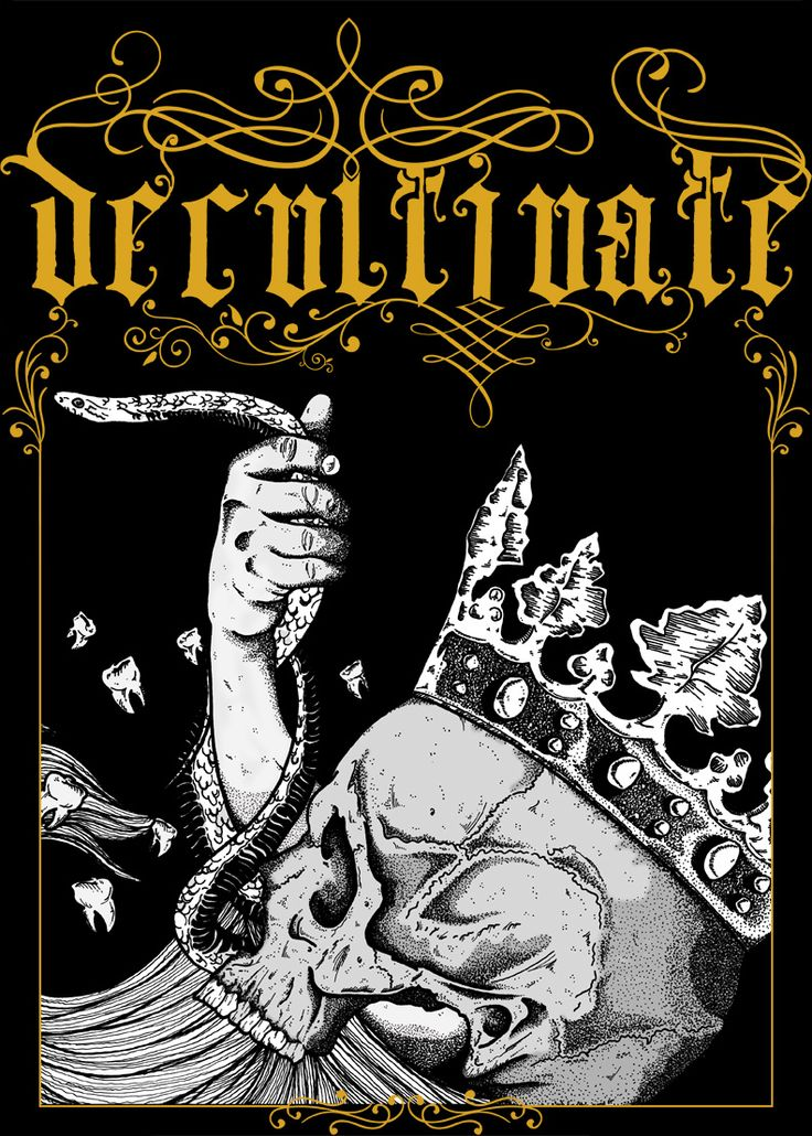 Decultivate poster