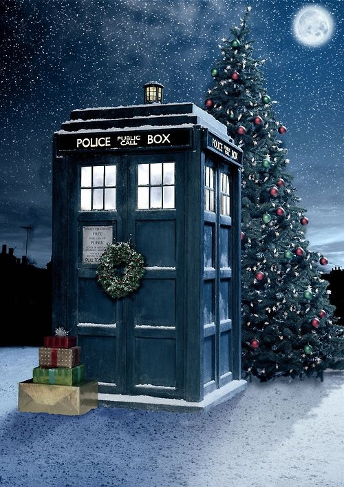 Doctor Who and Christmas! My 2 favourite things:)