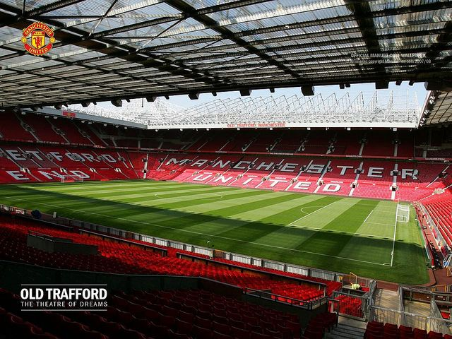 OLD TRAFFORD is the home of Manchester United. It's on my bucket list to see them play in person on this pitch. | what a beauty