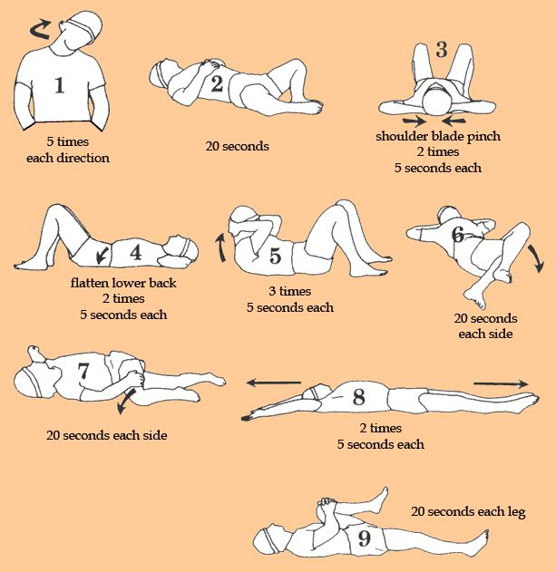 lower back stretches | stretches4_lowerback_1thru9.gif