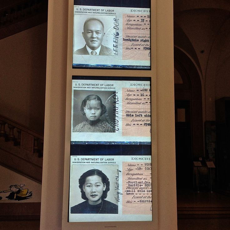 In 1892 President Harrison signed into law the Geary Act.  That Act extended the Exclusion Act for another 10 years.  It also required Chinese to register with the government and carry identification cards.  (The New York Historical Society Chinese Exclusion Act Exhibit.)
