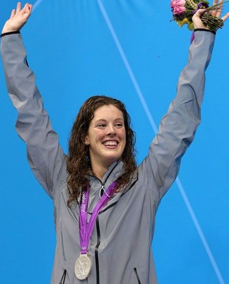 Allison Schmitt Swims, Laughs to Olympic Gold Medal: Olympic Swimmers, Londonolympics Mediawelike, 2012, Sports, Usaswimming Londonolympics, London Olympics, 400M Freestyle