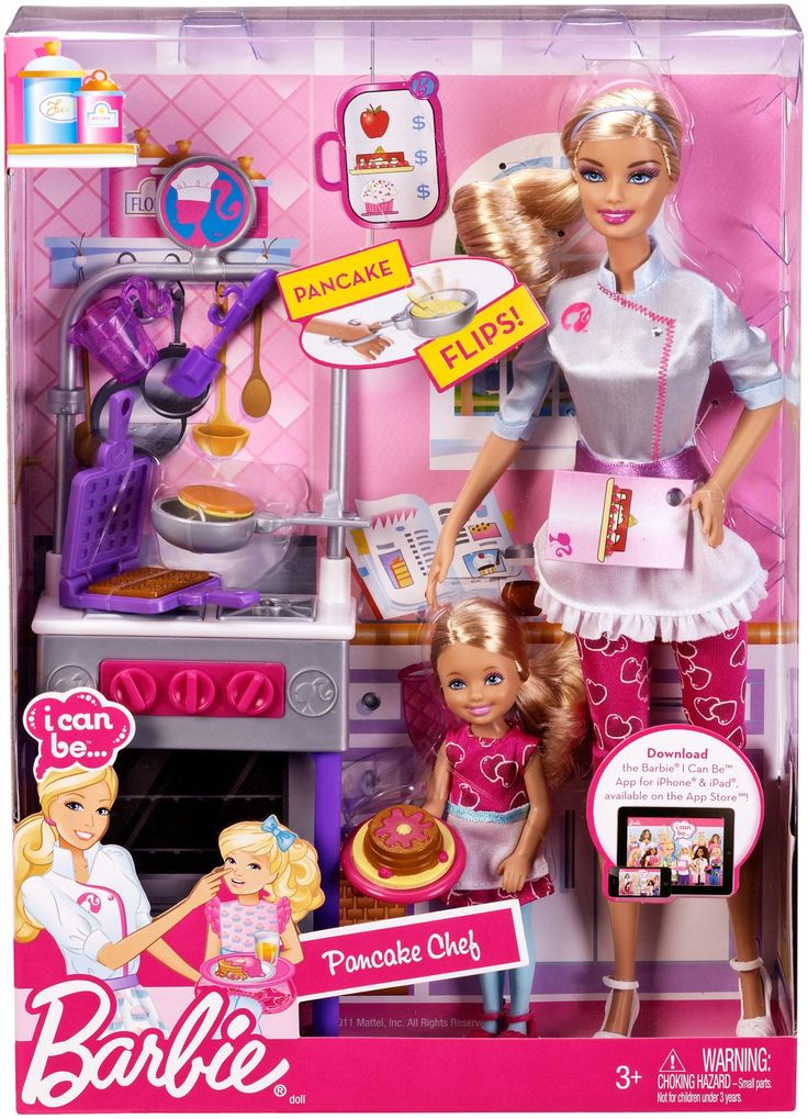 Barbie I Can Be... Pancake Chef Playset - Free Shipping  http://www.yoyo.com/p/barbie-2-story-beach-house-281876#