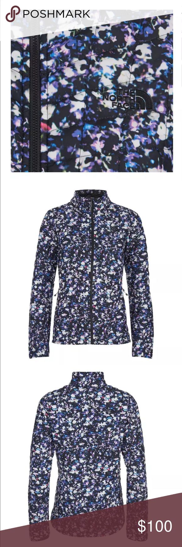 NWT Floral The North Face Thermoball Jacket Brand New Size Small The North Face Jackets & Coats