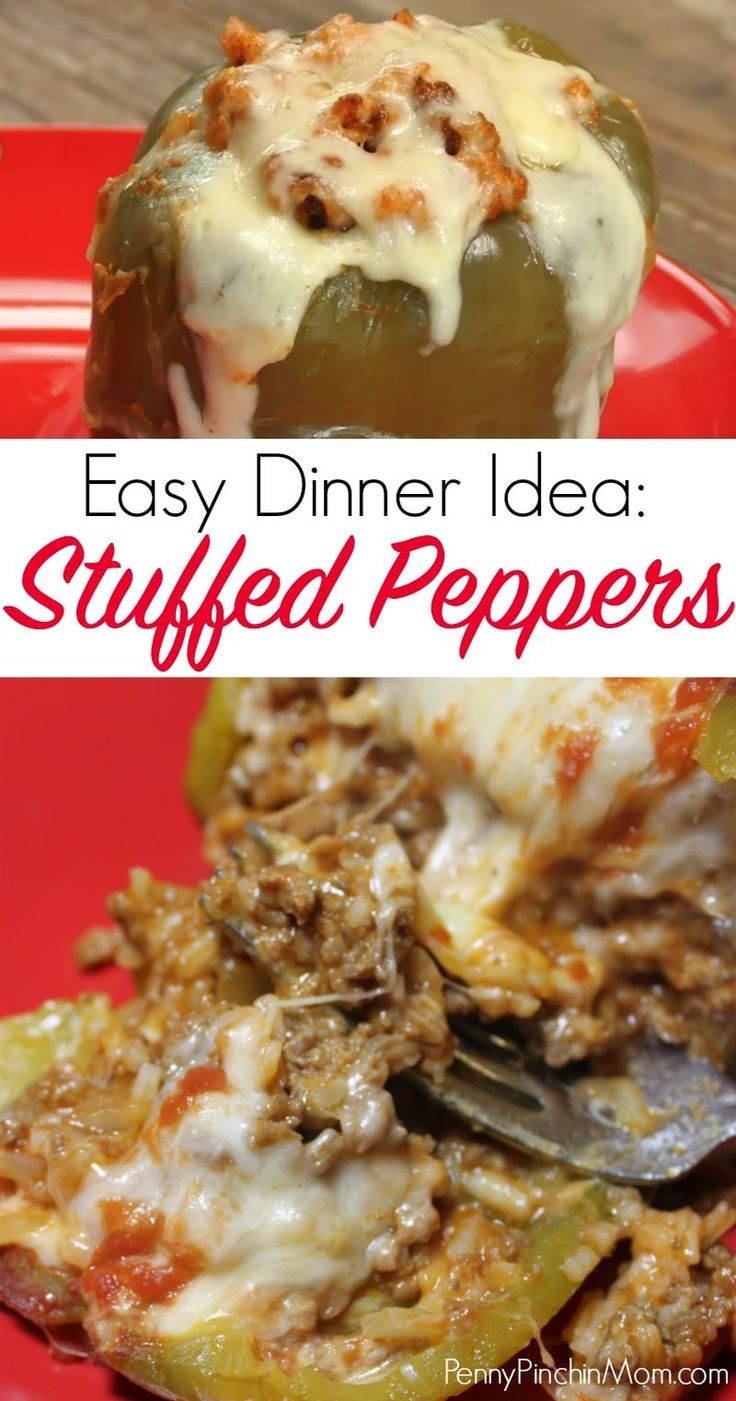 924 best dinner recipes images on pinterest savory snacks baking easy stuffed peppers recipe a simple easy dinner recipe that your family will absolutely love forumfinder Choice Image