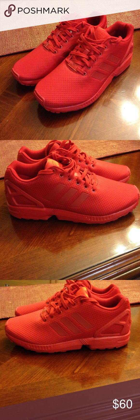 Men's Adidas ZX Flux Size: 9, Adidas ZX Flux, only worn twice, comes with original box Adidas Shoes Sneakers