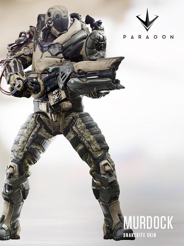Paragon : Skins
