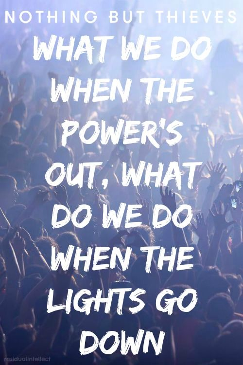 Nothing But Thieves // Trip Switch