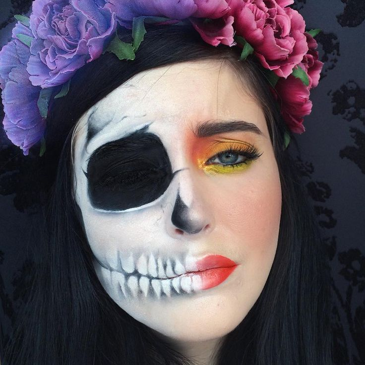 """Persephone  Hades wife cursed to life part of the year in the underworld and the rest on earth. #greekmythology #persephone #makeup #makekupartist…"""