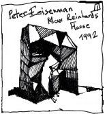 """Peter Eisenman's  Max Reinhardts Haus project in Berlin from 1992 is the """"Inspiration Source"""" for the Origami Envelopes trend"""