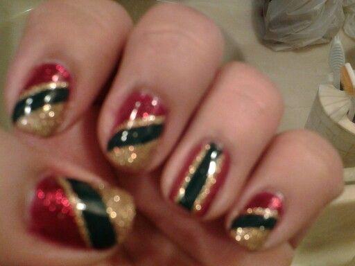 143 best nail designs images on pinterest nail designs nail christmas party nail designdgreengold prinsesfo Gallery