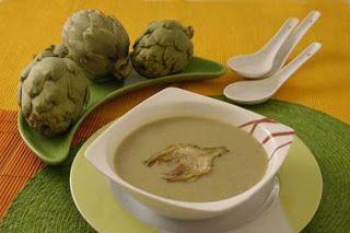 Recetas caseras: Crema de alcachofa