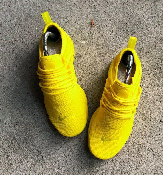 Reconocimiento segundo Gran cantidad de  Sunshine Yellow Nike Presto Custom PLEASE READ DESCRIPTION | Etsy | Nike  presto, Yellow nikes, I love my shoes