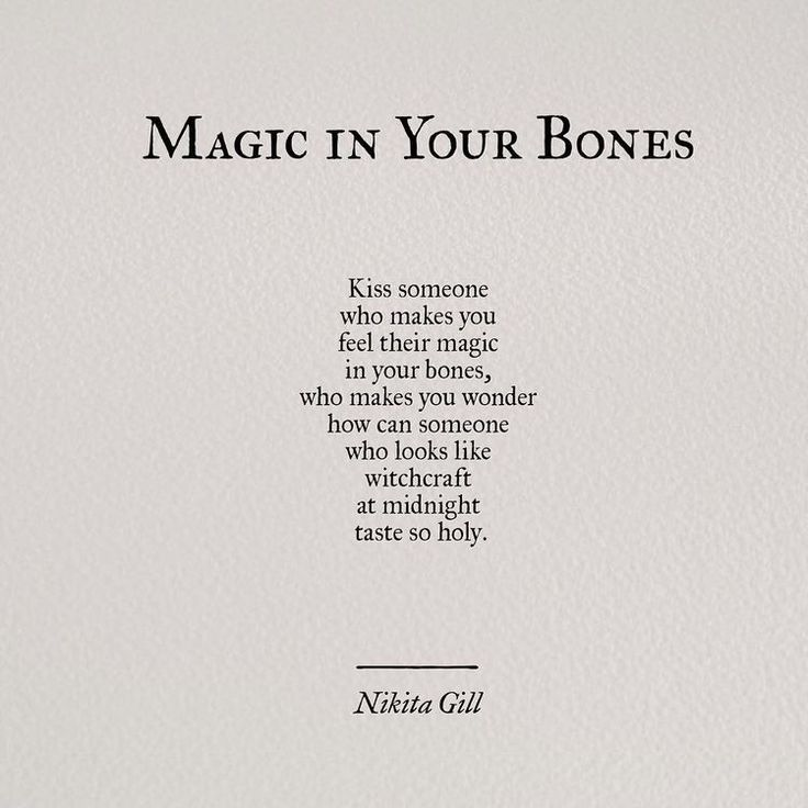 ✨magic in your bones✨