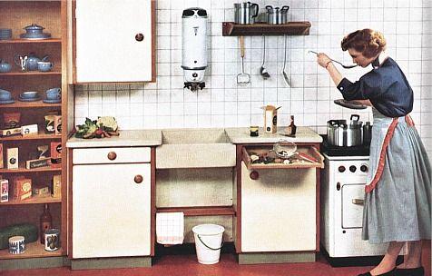 Kitchen Bruynzeel (Netherlands) 1956.