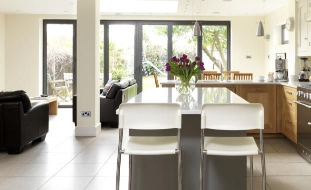 Open Plan Kitchen Diner Living Extension Ideas Pinterest Diners Open P
