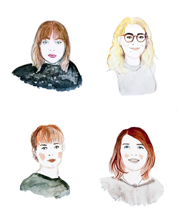 writer illustrator graphic designer BLOMSTRANDE | Personerna bakom Blomstrande bröllop | http://blomstrande.com
