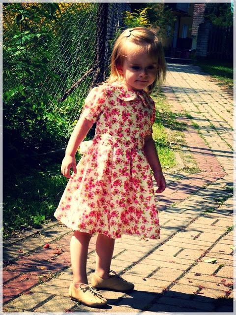 floral toddler summer dress