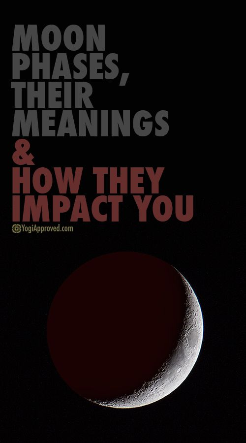 Moon Phases, Their Meanings, and How They Impact You