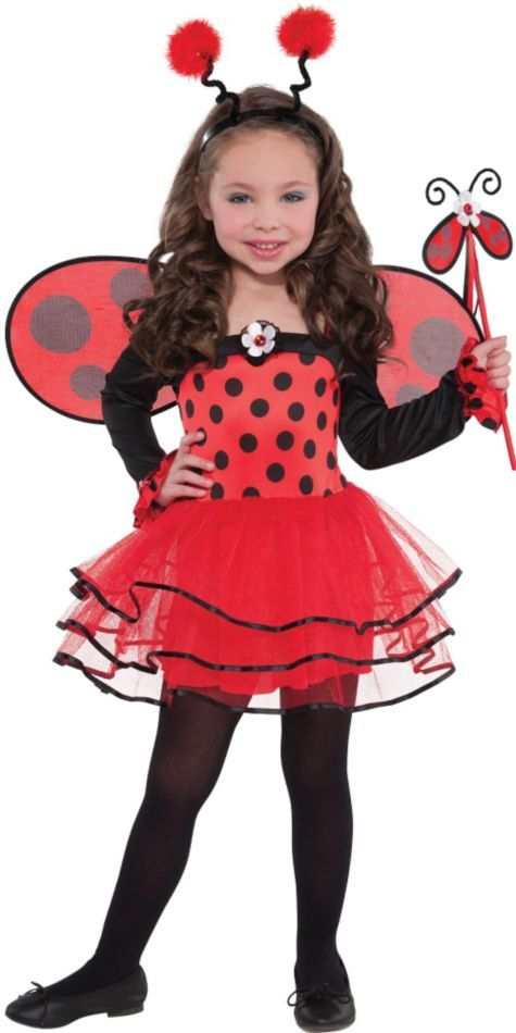 Ballerina Ladybug Costume for Girls - Halloween City
