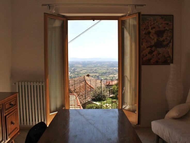 Townhome vacation rental in Cortona from VRBO.com 130 Euro per night