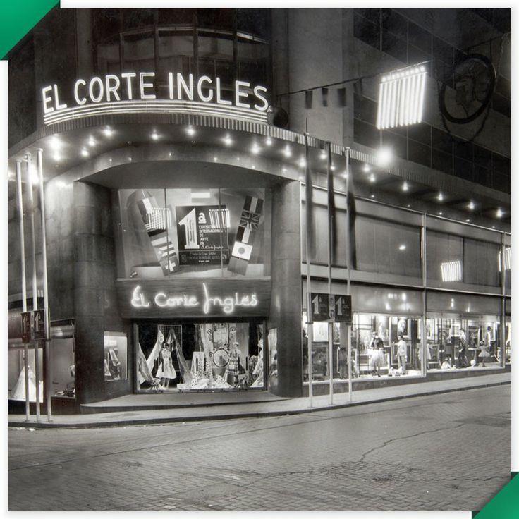 El Corte Inglés toma su nombre de una pequeña sastrería fundada en 1890 y situada entre las calles Preciados, Carmen y Rompelanzas, de Madrid. #ElCorteIngles #Escaparates