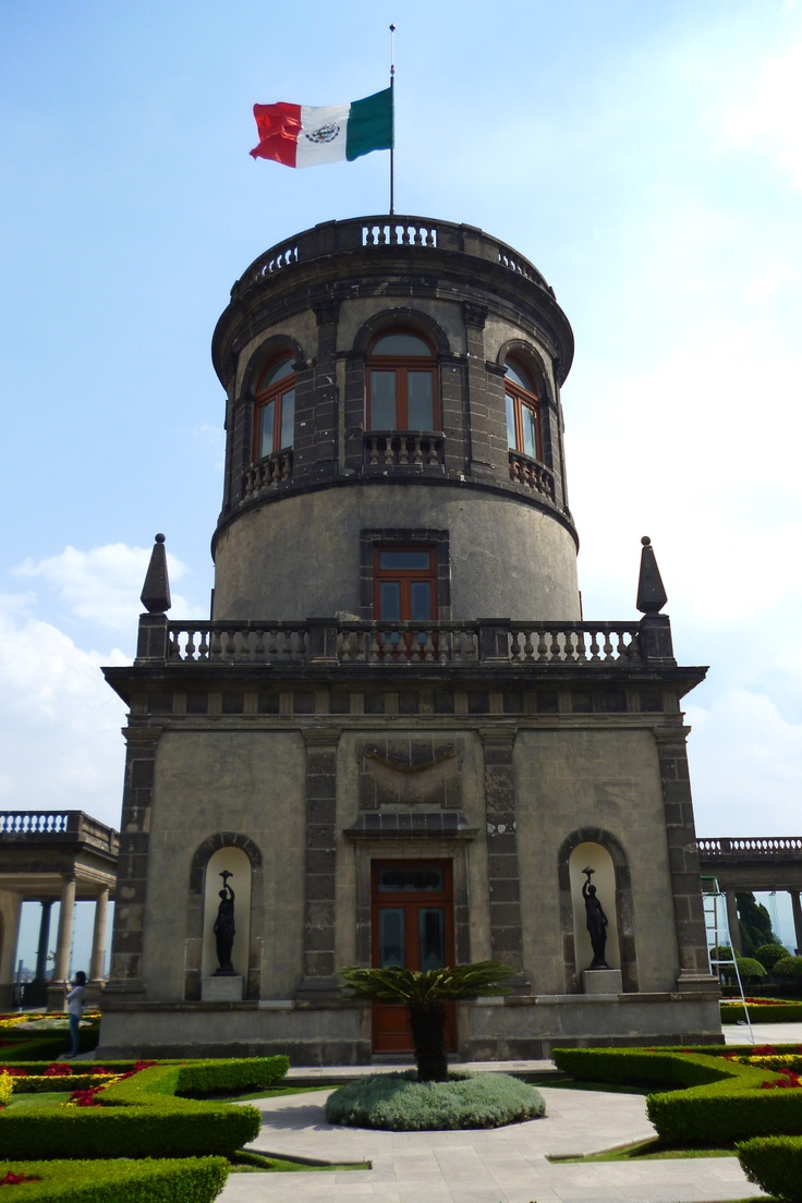 Torre, Castillo de Chapultepec. It is the only Royal Castle in the Americas.