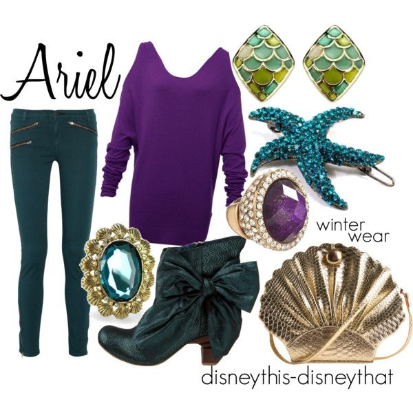 Ariel winter, created by disneythis-disneythat on Polyvore. I love this outfit!
