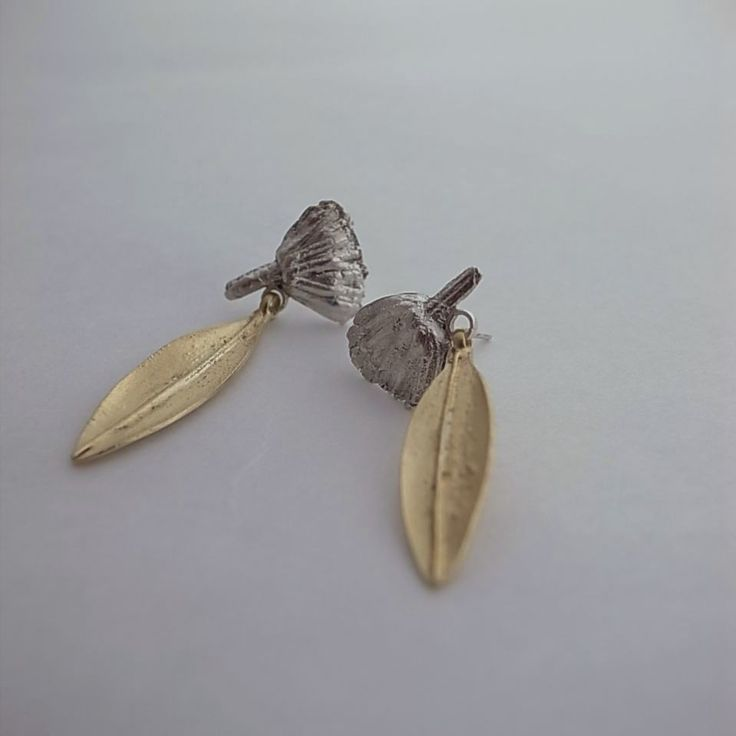 earrings/ gold plated silver 925/1000
