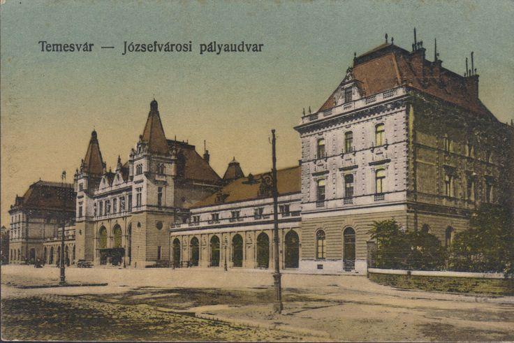Timisoara - Gara Iosefin (Domnita Elena) / Jozsefvarosi Palyaudvar 1921