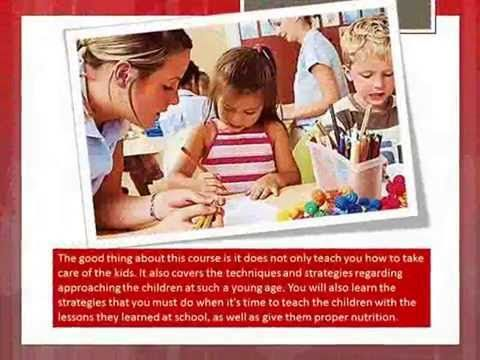 Things You Can Learn in Taking Up Child Care Courses in Perth - YouTube