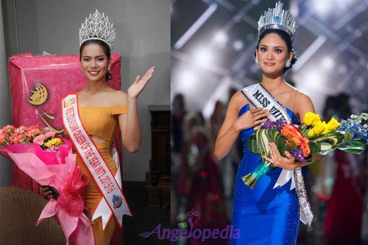 Leren Mae Bautista Miss Tourism Queen of the Year International 2015 admires Pia Wurtzbach