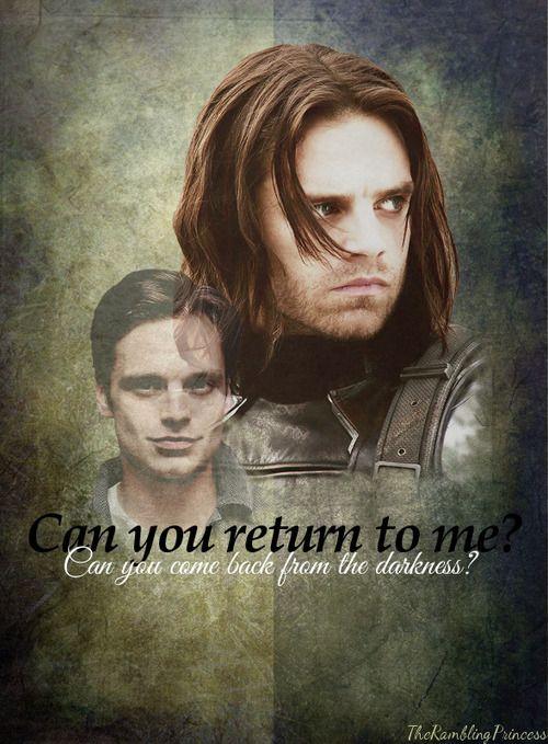Captain America: The Winter Soldier, Bucky Barnes - Sebastian Stan #fanart
